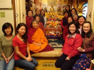 1 Medicine Buddha Retreat Group