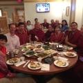 Dinner with Lamas