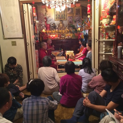 Listening to Khenpo