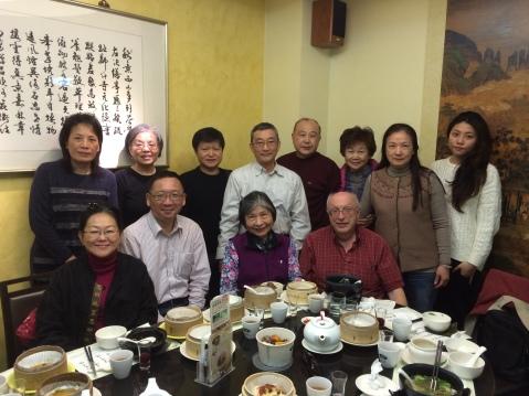 12. 旅經台北與好友們用午餐