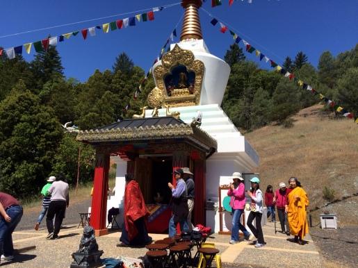 Circumambulating the Stupa