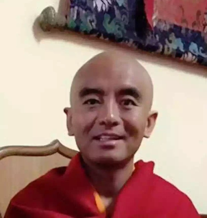Rinpoche after Shave