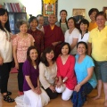 Rinpoche at Center