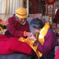Grandpala with Dorje Palmo