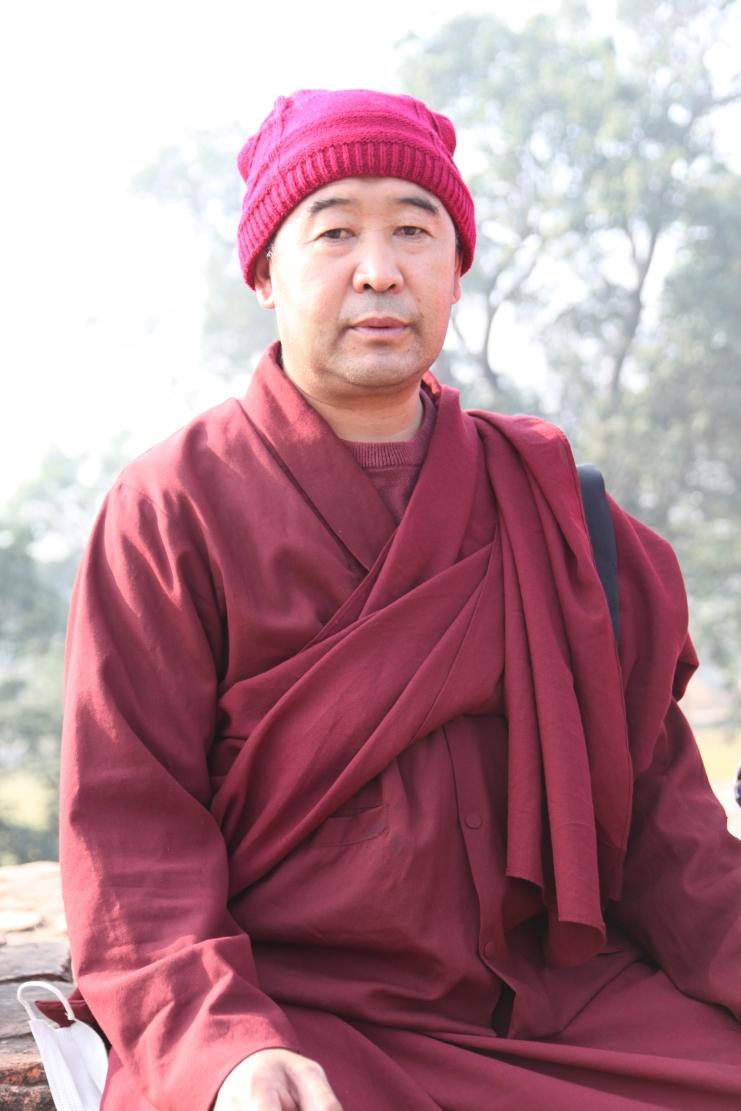 12 Lama Tashi in Lumbini