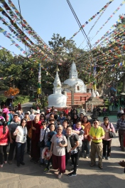 19 Group at Swayambhunath Temple
