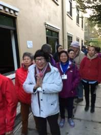 21 Breakfast Line at Monastery