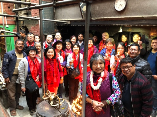 42 Group at Mahabuddha Temple