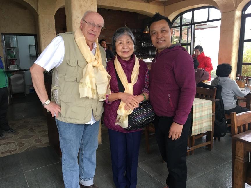 47 Dorje Palmo with Tour Manager (Balaram)