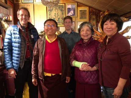 7. Tsoknyi Rinpoche visits with Dorje Palmo