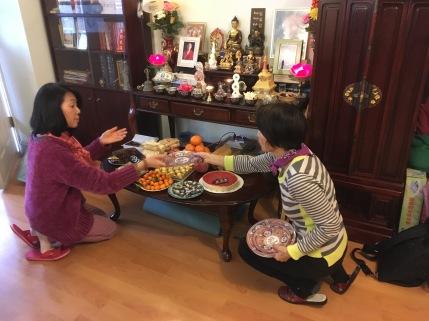 NY Tsok Offering Preparation