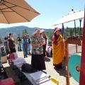 Dorje Palmo Leading Prayer