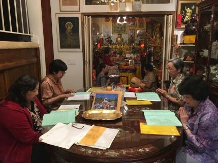 Chanting Vajrapani Sutra