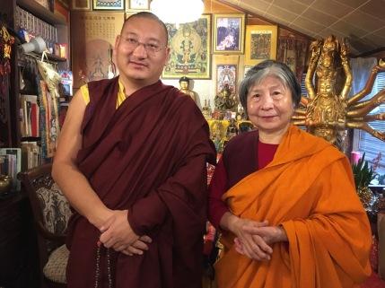 3 - Khenpo & Dorje Palmo