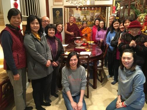 4 - Gathering for Khenpo's Teaching