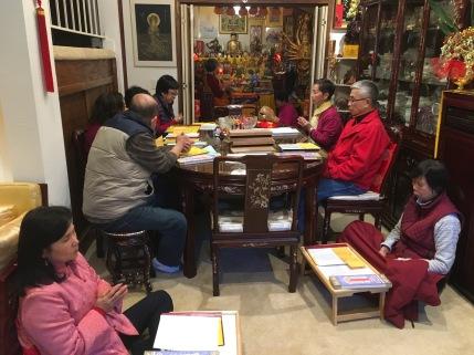 Chanting Stupa Sutra