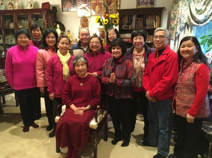 Gathering for Chinese New Year