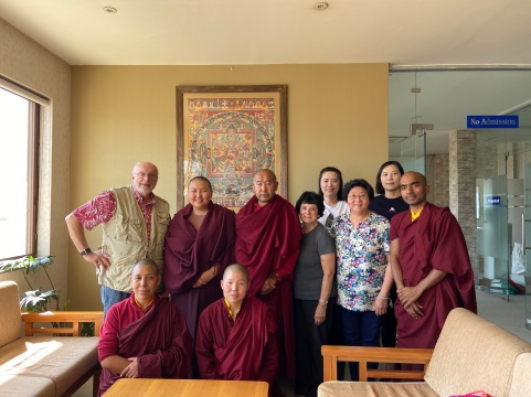 Group Photo at Tsoknyi Nunnery
