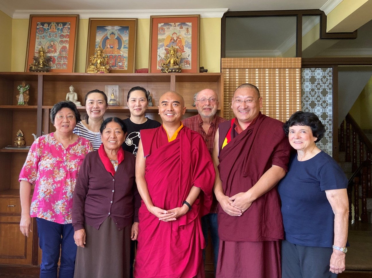 Visit with Mingyur Rinpoche